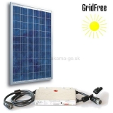 GridFree: Panel 250Wp + Menič 230V/230W