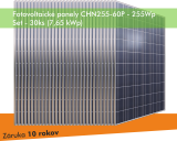 Fotovoltaický panel - CHN255-60P 255Wp - SET 30ks